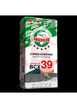 Клей для пенопласта Ансерглоб 39 (Anserglob ВСХ-39) 25 кг (приклеивание)