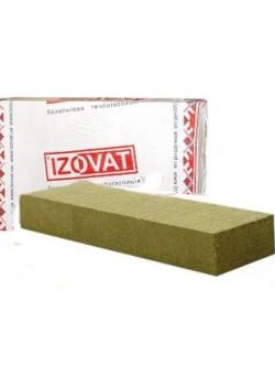 Утеплитель базальтовый 45 Izovat 10(1000x600x50 мм) - 6 кв.м/уп