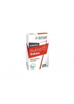 Шпаклевка гипсовая финиш Siniat PLATO Satengips(25 кг)