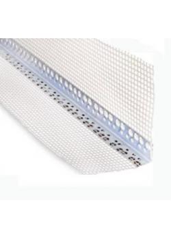 Уголок алюминиевый со стеклосеткой (3 м)