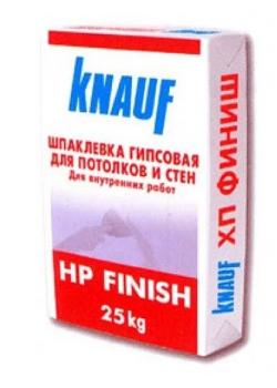 Гипсовая шпаклевка Кнауф финиш (Knauf HP Finish) (25 кг)