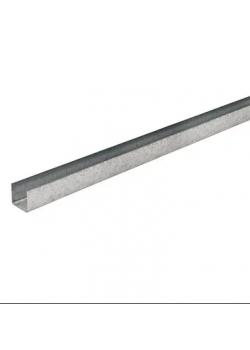 Профиль потолочный направляющий KNAUF UD-27 3 м (0,6 мм)
